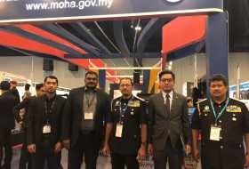Visit by Director General of Immigration Department of Malaysia to S5's booth in Defence Services Asia (DSA) and National Security Asia (NATSEC) Exhibition and Conference 2018