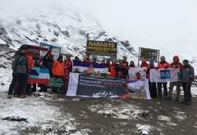 Immigration and S5's Annapurna for World Peace 2018 Expedition
