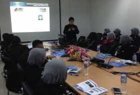Training for Biometric System in Terengganu Immigration State Office