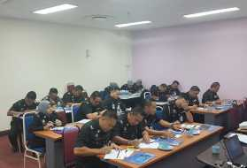 Training for Biometric System in Sabah Immigration State Office