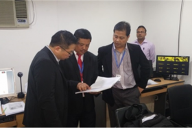 Immigration Security Clearance (ISC) Centre Auditing by Ministry of Home Affairs Malaysia delegation  in Dhaka, Bangladesh