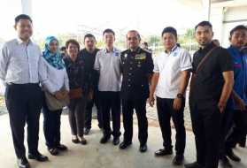 Site Visit to the new Immigration, Customs, Quarantine and Security (ICQS) Complex in Bukit Kayu Hitam