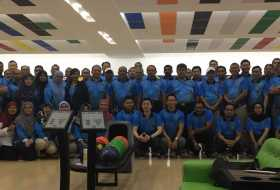 Friendly Bowling Event with Immigration Department, led by Director General of Immigration Malaysia