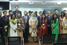 Visit of Excellency of Malaysia High Commissioner in Bangladesh to the new ISC Centre in Dhaka