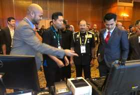 NexCode Enforcement Solution showcase to the Deputy Minister of Home Affairs, YBhg Dato' Mohd Azis Bin Jamman during ASEAN DGICM 2018