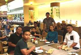 Iftar with Sabah Immigration Department at Grandis Hotel, Kota Kinabalu