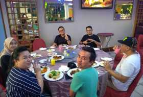 Iftar with Labuan Immgration Department at Dorset Grand, Labuan