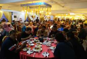 Iftar with Penang State  Immgration Department at Iconic Hotel, Penang
