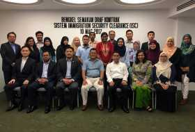 Contract Finalisation Workshop for ISC by Ministry of Home Affairs and Immigration Department of Malaysia