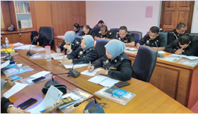 Training for Biometric System in Penang Immigration State Office