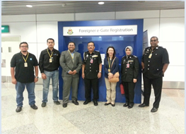 Site Visit on Foreigner eGate by Immigration Kuala Lumpur