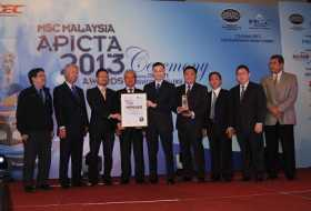 S5 System Wins MSC Malaysia APICTA 2013 Best of e-Government & Services