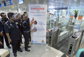 Immigration unveils S5's Foreigner eGate facility at KLIA