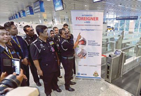 S5's Foreigner eGates enhances foreigner processing at Airports